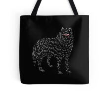 Ghost Game Of Thrones Direwolf Design Tote Bag