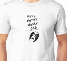 HEVY METEL MASTR 666 Unisex T-Shirt
