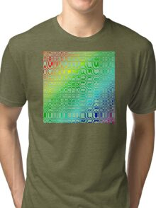 Abstract in Color Tri-blend T-Shirt