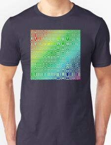 Abstract in Color Unisex T-Shirt