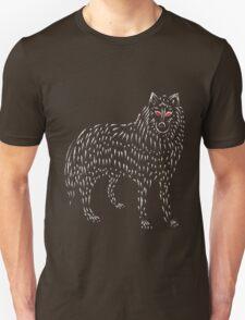 Ghost Game Of Thrones Direwolf Design T-Shirt