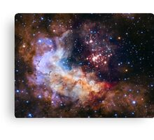 Hubble's 25th Birthday Gift to Us! Canvas Print