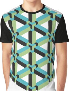 Isometric Cube Graphic T-Shirt