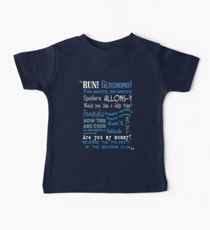 Doctor Who Quoted Baby Tee