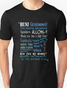 Doctor Who Quoted Unisex T-Shirt