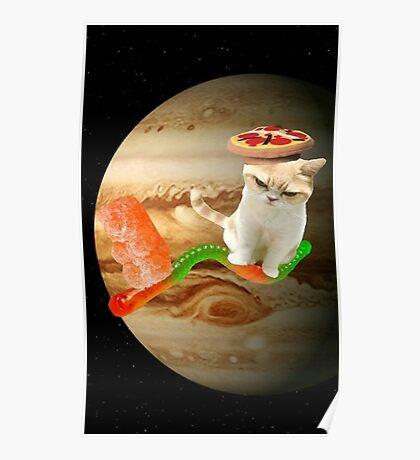 gummy cat Poster