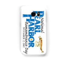 Pearl Harbor Remembrance Day 75th Anniversary Logo Samsung Galaxy Case/Skin