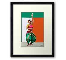 Tribute to India, (please read notes) Framed Print