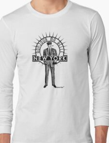 Bonjour ma belle New York by Francisco Evans ™ Long Sleeve T-Shirt