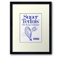 Super Tennis Framed Print