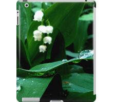 Lily of the Valley.  iPad Case/Skin