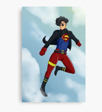 90s Superboy Canvas Print