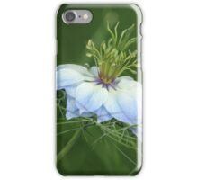 Nigella Damascena iPhone Case/Skin