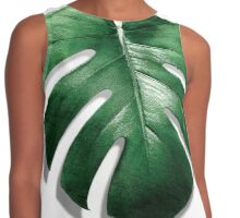TROPICAL LEAF MONSTERA Contrast Tank