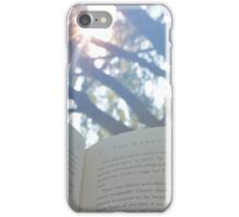 Outdoor Reading iPhone Case/Skin