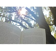 Outdoor Reading Photographic Print