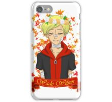 Teen Wilson iPhone Case/Skin