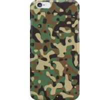 Woodland Camouflage Pattern iPhone Case/Skin
