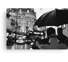 Oxford Street, London Canvas Print