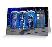Port-a-TARDIS Greeting Card