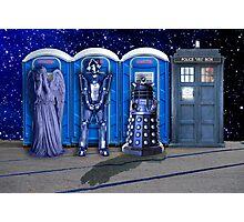 Port-a-TARDIS Photographic Print