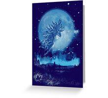 night walkers Greeting Card