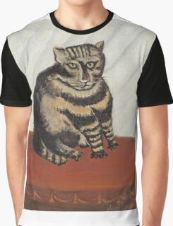 Henri Rousseau - The Tabby Graphic T-Shirt