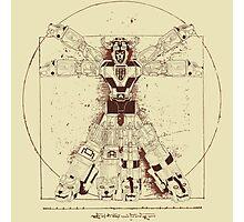 Voltruvian Man Photographic Print