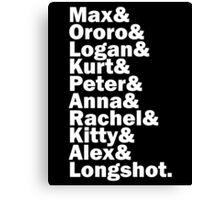 Max's Team Canvas Print