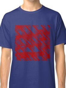 Zacken rot Classic T-Shirt