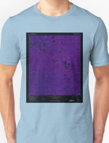 USGS TOPO Map Alabama AL Seaboard 305014 1982 24000 Inverted T-Shirt