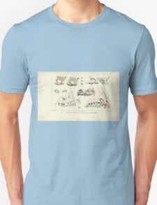 Natural History Fish Histoire naturelle des poissons Georges V1 V2 Cuvier 1849 083 T-Shirt
