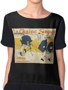 Henri De Toulouse-Lautrec - The Simpson Chain Chiffon Top