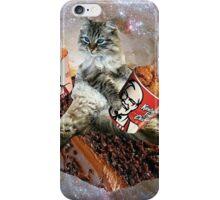 bff kfc cat iPhone Case/Skin