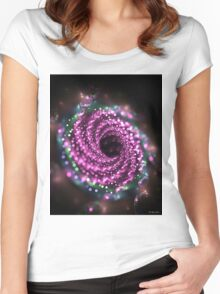 Magical fractal flower Women's Fitted Scoop T-Shirt