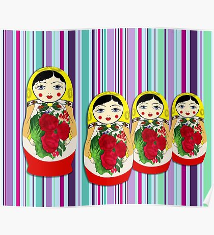 The Matryoshka Maidens Poster
