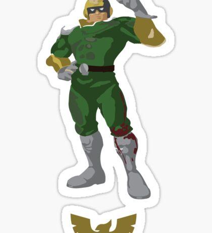Captain Falcon - Super Smash Brothers Sticker