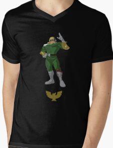 Captain Falcon - Super Smash Brothers Mens V-Neck T-Shirt