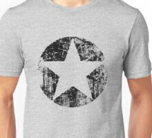 BLACK CIRCLE STAR Unisex T-Shirt