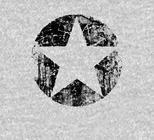 BLACK CIRCLE STAR Unisex T-Shirt