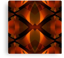 Burnished Red Canvas Print