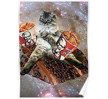 bff kfc cat Poster