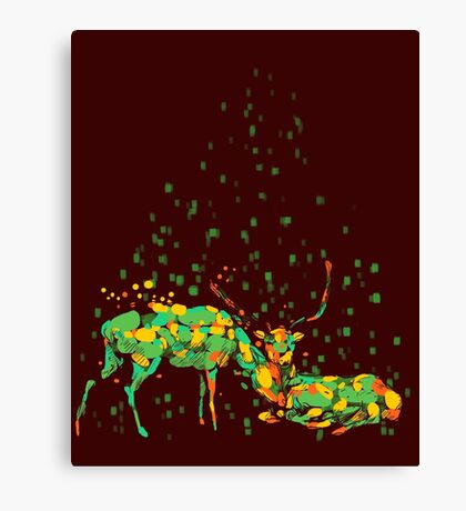 deers in disguise Canvas Print