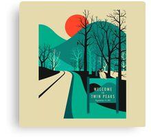 twin peaks merchandise Canvas Print