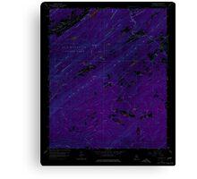 USGS TOPO Map Alabama AL Chelsea 303468 1959 24000 Inverted Canvas Print