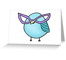 Sassy Bird Greeting Card