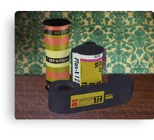 Obsolete Film - V1 Canvas Print