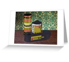 Obsolete Film - V1 Greeting Card