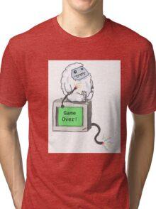 Computer Yeti Tri-blend T-Shirt