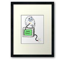 Computer Yeti Framed Print